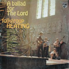 Albumcover 'A ballad for the Lord' by Folkgroup Heating, 1968