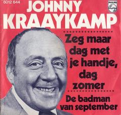 Johnny Kraaijkamp in 1976