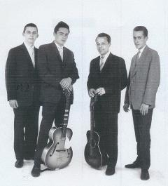 The Four Sweeters in 1960