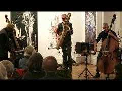 William Parker's Nederland Bass Trio - Arts For Art, NYC - May 1 2015
